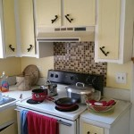 Kitchen in need of remodeling